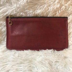 Vintage Coach Red Leather Wallet